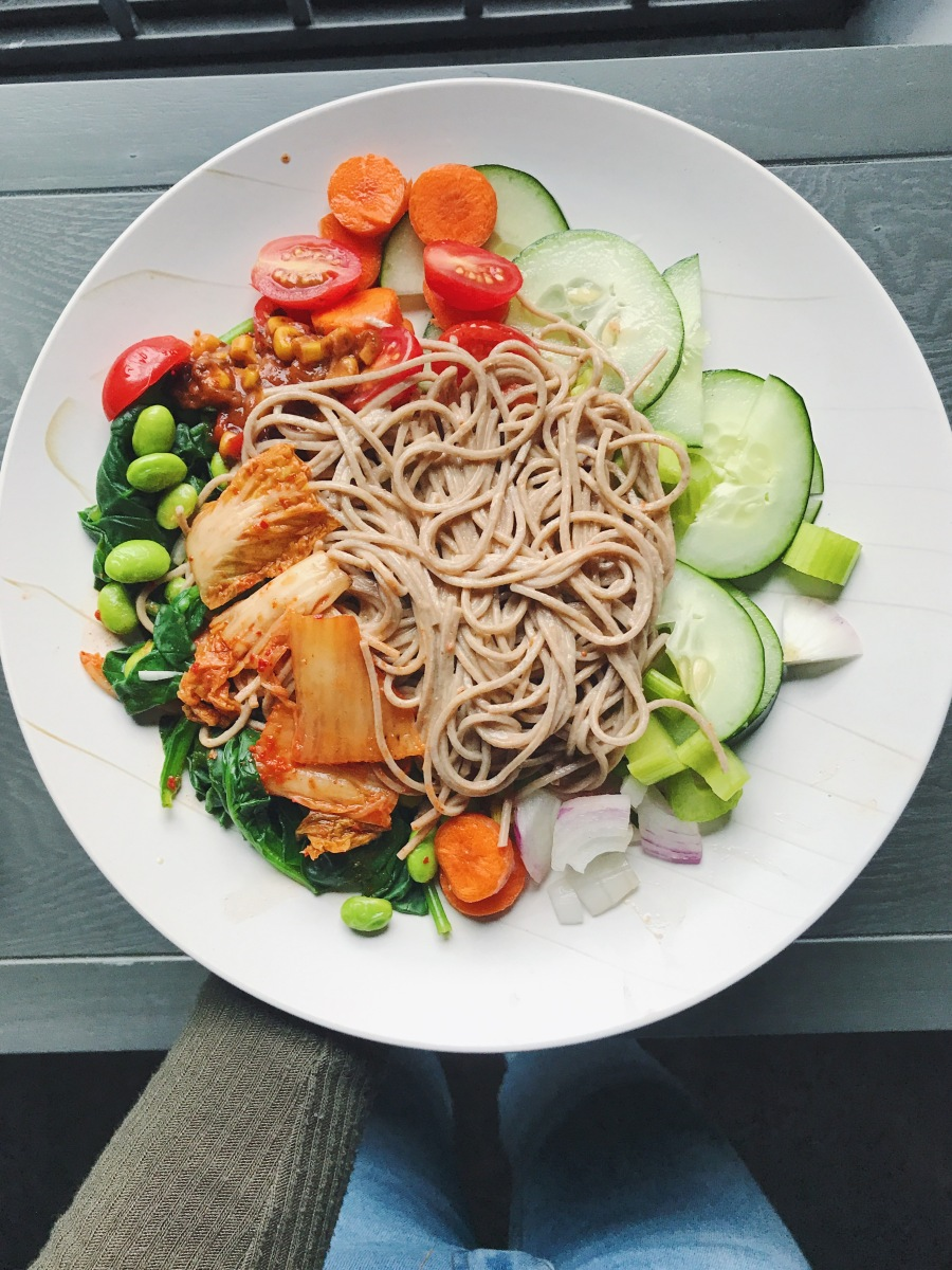 15-Minute Soba Noodle Salad Recipe (Vegan)