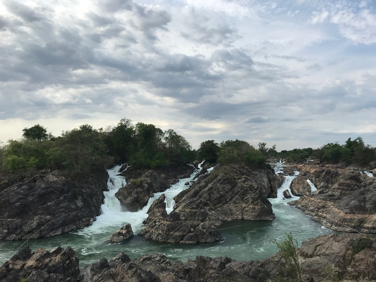 4/7/18: Swimming In SE Asia's Biggest Waterfalls
